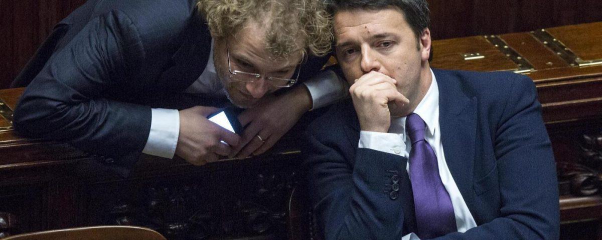 Luca Lotti, Matteo Renzi
